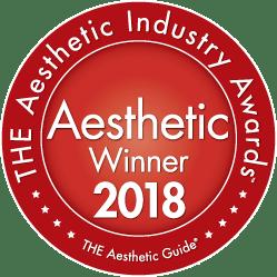 The Aesthetic Industry Awards winner 2018